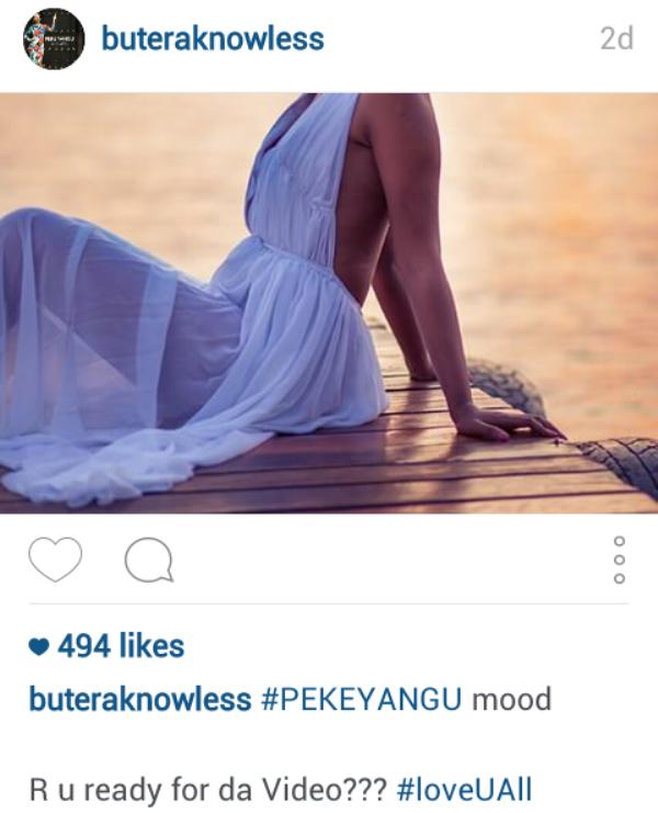 Ifoto ikurura abagabo Knowless Butera yashyiz
