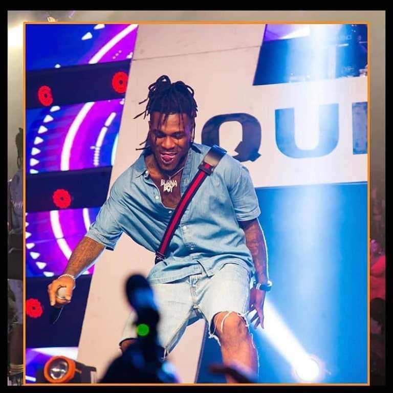 Umunya-Nigeria Burna Boy yashyizwe mu mushing