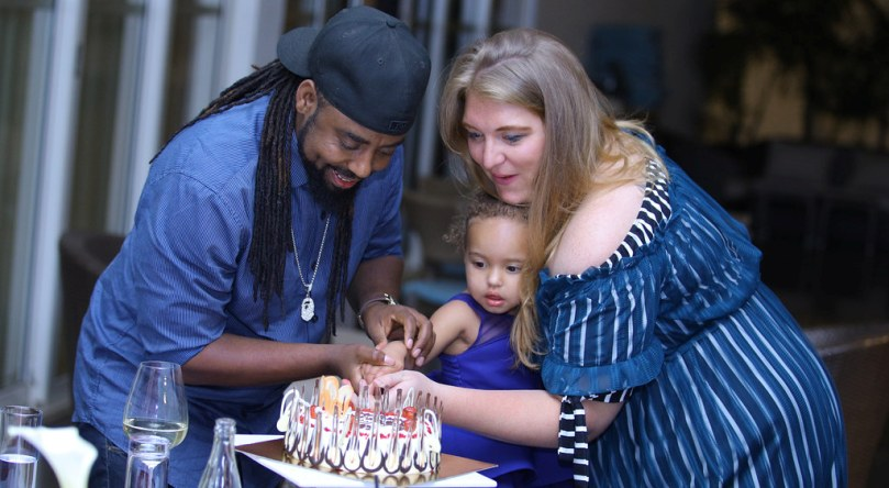Humble Jizzo Celebrates a Colorful Birthday Party With his Family