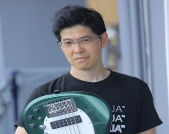Meet Japanese Bassist Quagero Imazawa who is in Rwanda