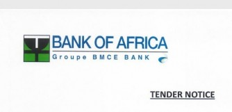 Tender Notice: Bank of Africa Rwanda PLC