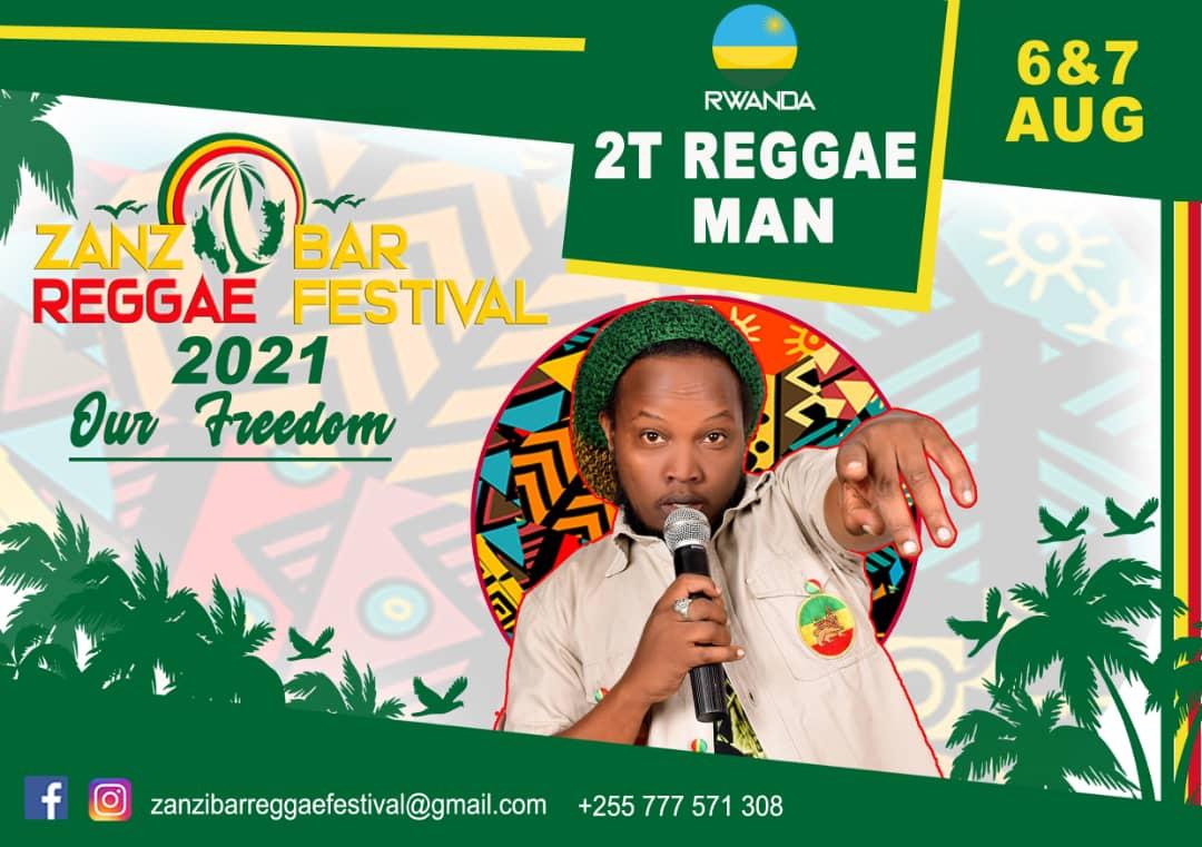 2T Reggae Man yatumiwe mu bitaramo bizabera muri Tanzania ''Zanzibar Reggae Festival''-Video