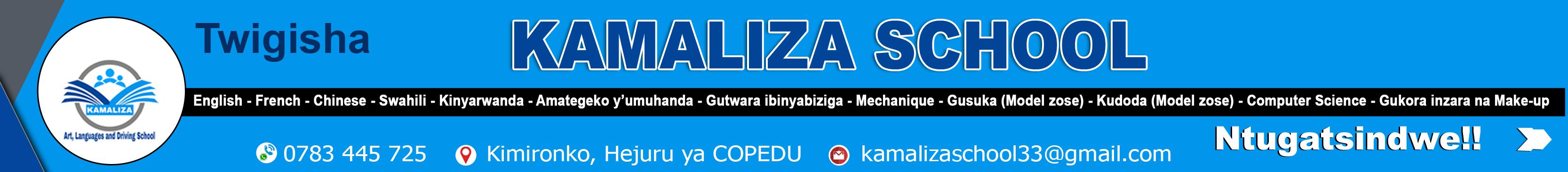KAMALIZA SCHOOL